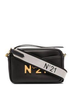 Nº21 сумка через плечо с логотипом
