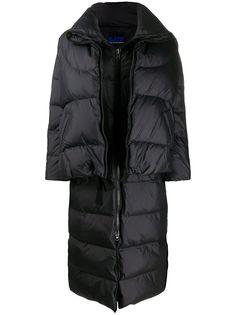 SJYP длинное стеганое пальто