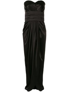 Dolce & Gabbana вечернее платье с драпировкой