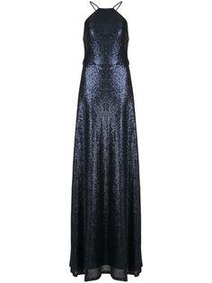 Marchesa Notte вечернее платье с пайетками