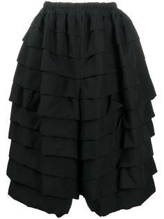 Comme Des Garçons многослойная юбка миди