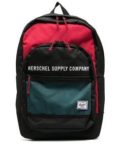 Herschel Supply Co. logo print backpack