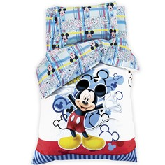 Комплект постельного белья 1,5 сп Микки Маус Disney