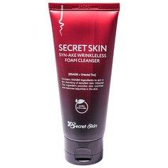 Secret Skin пенка для умывания антивозрастная Syn-Ake Wrinkleless Foam Cleanser, 100 мл