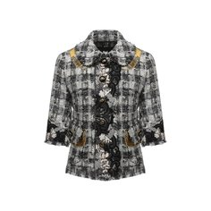 Твидовый жакет Dolce & Gabbana