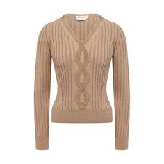 Хлопковый пуловер Alexander McQueen