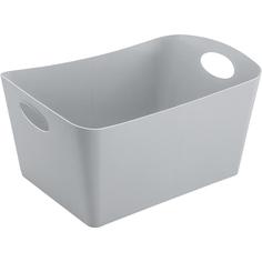 Контейнер для хранения boxxx l organic, 15 л, серый, Koziol