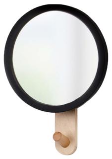 Зеркало с вешалкой Hub Umbra