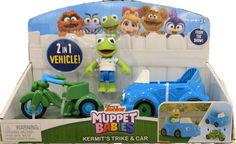 Игровой набор Кермит с байком и машиной Kermit Trike and Car Disney 22280