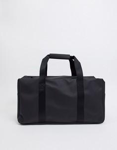 Черная спортивная сумка Rains-Черный