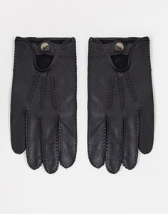 Черные перчатки для вождения и сенсорных гаджетов Barneys Original-Черный