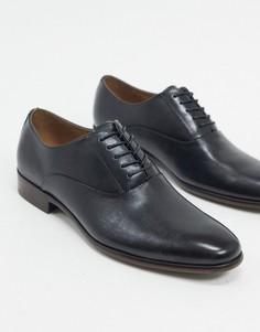 Черные кожаные оксфордские туфли ALDO-Черный