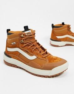 Коричневые кроссовки Vans UltraRange EXO Hi MTE-Светло-коричневый