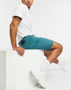 Бирюзовые джинсовые шорты Globe Goodstock-Голубой