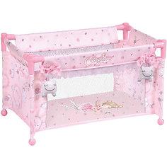 Манеж-кроватка для куклы DeCuevas, 50 см