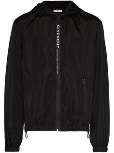 Givenchy ветровка с логотипом Address