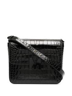 MSGM сумка на плечо с тиснением под кожу крокодила