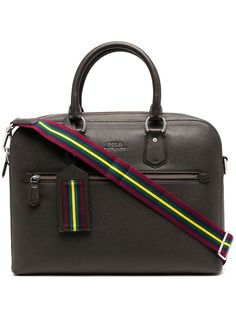 Polo Ralph Lauren портфель из зернистой кожи