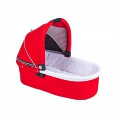 Люлька Valco Baby Q Bassinet для Trimod X, Snap 4 Ultra, Quad X Fire Red, красный
