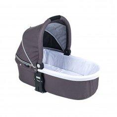 Люлька Valco Baby Q Bassinet для Trimod X, Snap 4 Ultra, Quad X Dove Grey, темно-серый