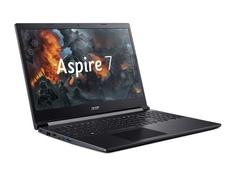 Ноутбук Acer Aspire 7 A715-75G-73WN NH.Q87ER.004 (Intel Core i7-9750H 2.6GHz/8192Mb/256Gb SSD/nVidia GeForce GTX 1650 4096Mb/Wi-Fi/15.6/1920x1080/Eshell)