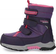 Ботинки утепленные для девочек LASSIE Boulder, размер 25