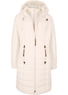 Стёганое пальто Bonprix