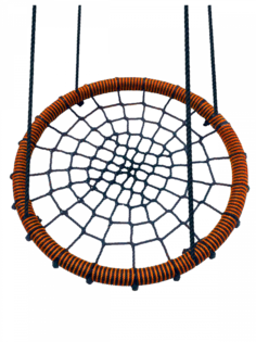 Качели-гнездо подвесные FUNNY-FLIGHT коричневый, 60 см
