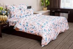 Комплект постельного белья Ночь нежна Akvarelniy Tsvetok Цвет: Персиковый (2 спальное)