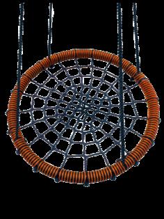 Качели-гнездо подвесные FUNNY-FLIGHT коричневый, 80 см