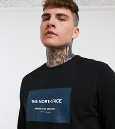 Черный лонгслив The North Face Story – эксклюзивно для ASOS