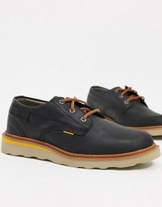 Черные кожаные туфли на шнуровке Caterpillar Jackson-Черный