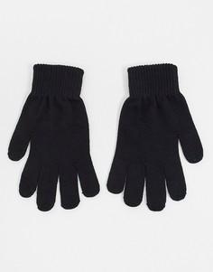 Черные перчатки для сенсорных гаджетов ASOS DESIGN-Черный