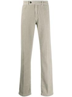 Massimo Alba вельветовые брюки прямого кроя