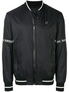 Philipp Plein дутая куртка-бомбер