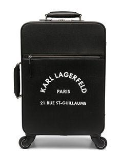 Karl Lagerfeld чемодан Rue St-Guillaume для ручной клади