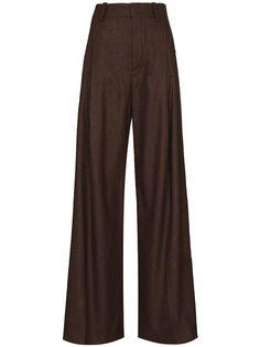Chloé брюки широкого кроя