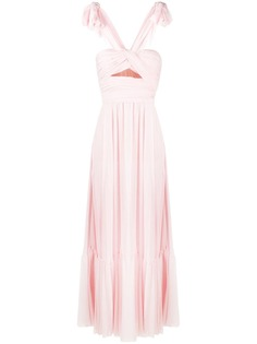 Giambattista Valli вечернее платье без рукавов с вырезами