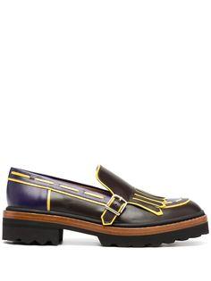 Fratelli Rossetti туфли дерби с пряжкой
