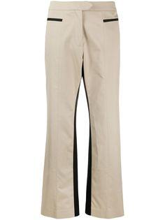 Palm Angels брюки прямого кроя со вставками