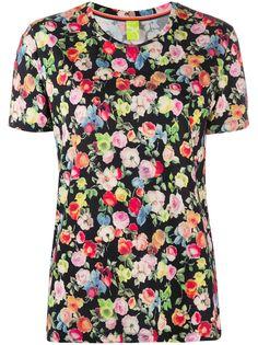 Paul Smith футболка с цветочным принтом