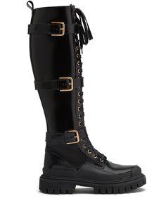 Dolce & Gabbana сапоги на шнуровке