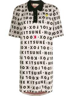 Maison Kitsuné платье-поло Kool Fox