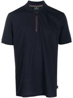PS Paul Smith рубашка поло с воротником на молнии