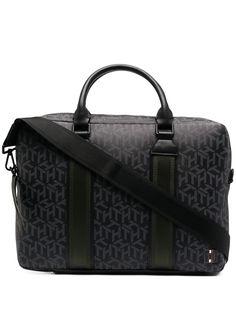 Tommy Hilfiger сумка для ноутбука с монограммой