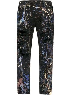 Dolce & Gabbana джинсы с эффектом разбрызганной краски