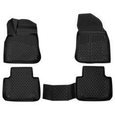 Комплект ковриков ELEMENT 3D5162210k Volkswagen Touareg 4 шт. черный