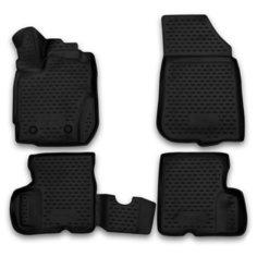 Комплект ковриков ELEMENT 3D3659210k Nissan Terrano 4 шт. черный
