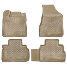 Комплект ковриков ELEMENT NLC.36.23.212k Nissan Teana 4 шт. бежевый