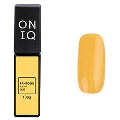 Гель-лак для ногтей ONIQ Pantone, 6 мл, оттенок 136S Aspen Gold